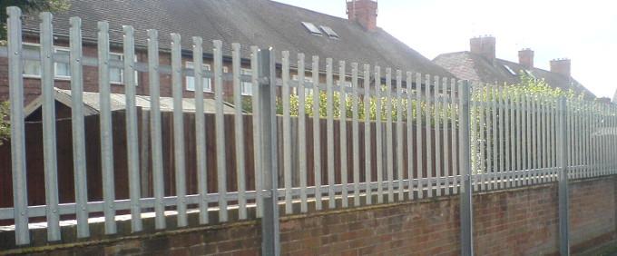 Palisade Fencing Nottingham Nottingham Fencing Contractor